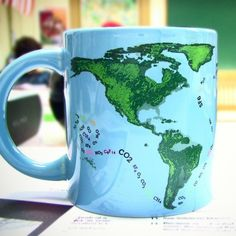 Fancy - Heat-Activated Global Warming Mug