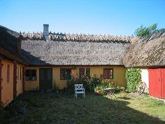 traditional Danish farm