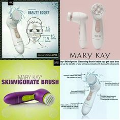 Beauty Boost. Get Your True Clean with #marykay #skinvirgorate #cleansingbrush. Helps polish away the look of past skin damage. Shop online now @ www.marykay.co.uk/iofoegbu