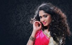 Sowmya Venugopal, indian actress, saree, beauty, Bollywood