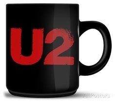 U2 - Logo Mug 8 x 10cm in Collectables,Kitchenalia,Mugs | eBay