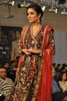 Nida Azwer Collection at Pantene Bridal Couture Week 2013 Day 1