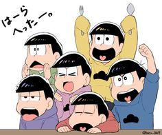 おそ松さん Osomatsu-san はーらへったー。