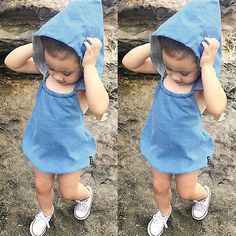Latest item! Hotsale summer ba... Visit us here! http://toddleloo.myshopify.com/products/hotsale-summer-baby-girls-boys-cool-denim-blue-romper-toddler-fashion-jumpsuit-sunsuits-with-hats?utm_campaign=social_autopilot&utm_source=pin&utm_medium=pin