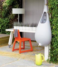 récupération eau pluie design - Pure rain