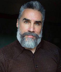Hair and Beard Growth Spray Natural Beard Growth, Beard Growth Oil, Beard Styles For Men, Hair And Beard Styles, Hair Styles, Handlebar Mustache, Beard No Mustache, Grey Beards, Long Beards