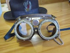 how to make steampunk lab goggles