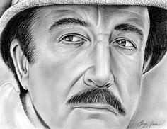 Peter Sellers as Chief Inspector Jacques Clouseau by gregchapin on deviantART ~ artist Greg Joens