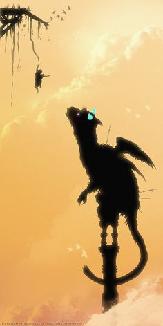 Trico The Last Guardian - Plunge by Zyden on DeviantArt