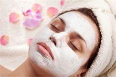 Heerlijk masker tijdens een beautybehandeling
