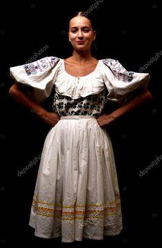 Folklore, Lace Skirt, Infographic, Dancer, Royalty, Stock Photos, Female, Portrait, Elegant