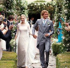 モナコ王室のピエール・カシラギ王子がイタリアのプライベートアイランドで2回目の結婚式
