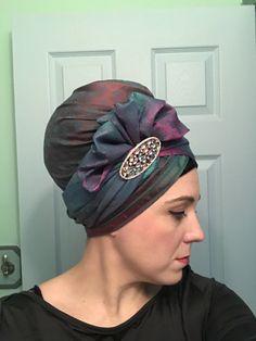 Hijab Turban Style, Bridal Hat, African Head Wraps, Head Wrap Scarf, Turban Headbands, Fascinator Hats, How To Wear Scarves, African Print Fashion, Headgear