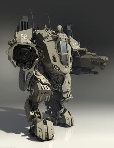 ArtStation - 3d model for crytek (mesh-boss hi-poly), Denis Didenko
