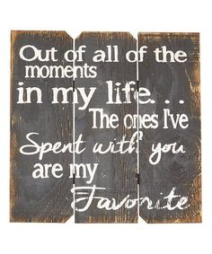 Loving this Black 'Out of All the Moments' Wall Art on #zulily! #zulilyfinds