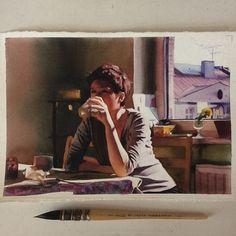 marcosbeccari: Terça-feira #aquarela #watercolor. Vai ter curso intensivo de férias! De 18 a 29 de janeiro na Pigmento. Inscrições: pigmentoacademia@gmail.com