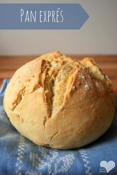 Pan exprés (para debutantes) My Favorite Food, Favorite Recipes, Salty Foods, Pan Bread, Yams, Empanadas, Cooking Time, Bon Appetit, Bread Recipes