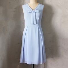 Madeline Dress Cornflower