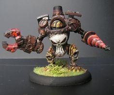 Searforge (Rhulic) Ghordson Driller Heavy Warjack for Warmachine