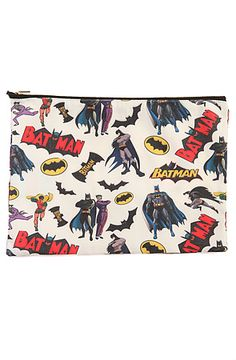 The Batman Makeup Bag by O-Mighty use rep code: OLIVE for 20% off!