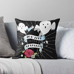 Halloween Decorations, Throw Pillows, Bed, Toss Pillows, Stream Bed, Decorative Pillows, Halloween Prop, Decor Pillows, Beds