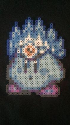 Kirby Super Star ICE Power Up Bead Sprite Pixel Art
