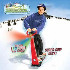 LED Ski Skooter Winter Gear, Winter Fun, Winter Sports, Winter Season, Best Scooter, Kick Scooter, Sleds For Kids, Sledding Hill, Snow Sled