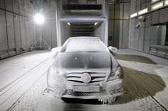 Climatic wind tunnel at the Mercedes-Benz Plant in Sindelfingen, Germany