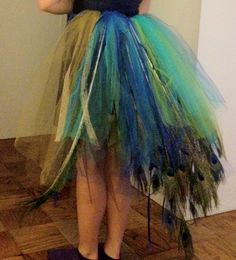 My finished peacock tutu!