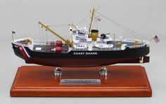 "12"" replica model of the USCGC Clover (WLB-292) Buoy Tender Model"