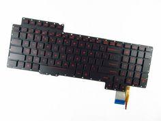 new Genuine for ASUS ROG G752VM keyboard w/ backlit