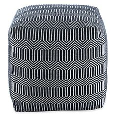 Happy Chic by Jonathan Adler Elizabeth Square Pouf - jcpenney