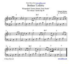 Brahms Lullaby - children's lullaby ~ awww
