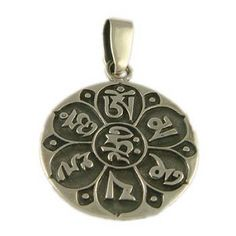 """Om Mani Padme Hum is a Buddhist mantra of compassion, meaning, """"Hail to the jewel of the lotus."""" In other words, we must look within ourselves to find the peace of the Buddha. Yoga Jewely LiveBreatheYoga.com"""