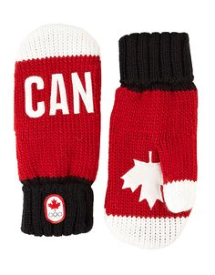 Canada Olympic Collection 2014 Snow Top Red Mittens got em! Red Mittens, Mitten Gloves, Olympic Idea, Hudson Bay, Winter Olympics, Usa Olympics, Winter Wear, Women Accessories, Winter Fashion