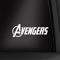 Avengers logo 5 1/2 inch #vinyl decal #marvel sticker multiple #colors available!,  View more on the LINK: http://www.zeppy.io/product/gb/2/222011658454/
