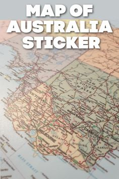 Our Map of Australia Stickers have been given an upgrade! They are now printed with a gorgeous Matt finish - still printed in Australia, still the same high quality UV protected vinyl...now with a more stylish finish! Perfect for your caravan or home. TIP: Full time caravanners have been using double sided tape while they're travelling and when they get home, they are fixing the sticker to it's permanent home...Good one! Australia Map, Us Map, Adventure Awaits, Caravan, How To Dry Basil, Travelling, Vintage World Maps, Tape, Stickers