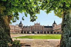 I loved this palace. Palacio de Aranjuez.