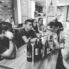 Staff wine tasting training #lovelaoviet #mywinemoment