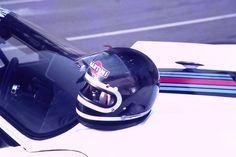 baby ickx Martini Racing, Football Helmets, Hats, Hat, Hipster Hat