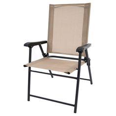 Good Sling Chair Tan   Room Essentials™