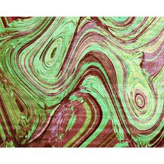 Modern Marble 2 (Red Green)