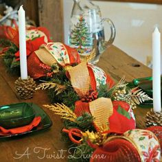 The mantel is glowing and the table is set.  It's never too early to prepare for the holidays!  Order a few strands of light up garland from A Twist Divine now and cross decorating off your list.  Easy and elegant!
