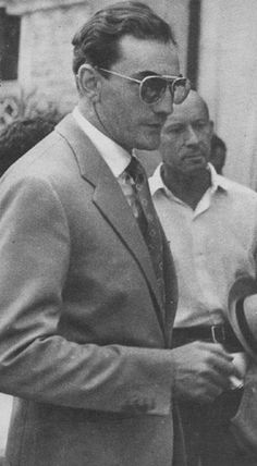 Lunching Visconti.