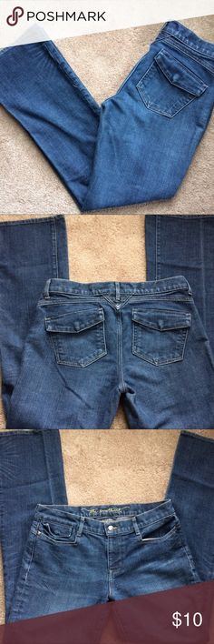 """Old Navy """"the sweetheart"""" jeans """"The sweetheart"""" jeans from Old Navy. Classic rise, bootcut, size 6. In good preowned condition. Jeans"""