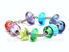 Image detail for -Sarah Downton Beads and Jewellery » Cloud Beads