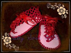 Baby Gladiatorstyle Tatted Sandals by needledreams on Etsy, $15.00