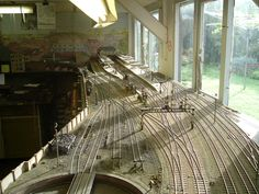 New Haven scale model railroad