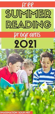 2021 Free Summer Reading Programs for Kids