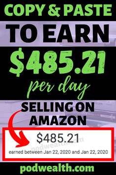 Discover way to make money online by selling books on Amazon! I'm sharing my experience and how I've managed to make $485.21 per day! Earn Money From Home, Make Money Blogging, Make Money Online, Saving Money, Make Easy Money, Make Money Fast, Online Jobs From Home, Work From Home Jobs, Sell Books On Amazon